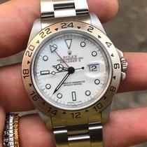 Rolex Explorer 2 II  Acciaio bianco white