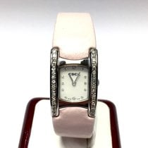 Ebel Beluga Manchette Ss Ladies Watch W/ Factory Diamonds...