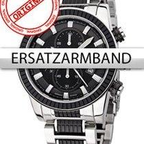 Perigáum Ersatzband Edelstahl P-1312 schwarz-silber