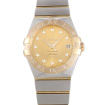Omega Constellation Co-Axial 35mm Watch 123.25.35.20.58.002