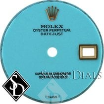 Rolex Datejust Turquoise T Swiss T Dial for Yellow Gold