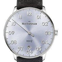 Meistersinger NEO Q 36mm Silver Dial