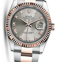 Rolex OYSTER PERPETUAL DATEJUST 36 EVEROSE STEEL 116231