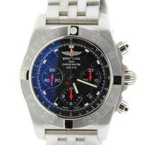 Breitling Chronomat 44 Black Dial Stainless Steel