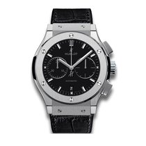 Hublot Classic Fusion 42mm Automatic Titanium Mens Watch Ref...