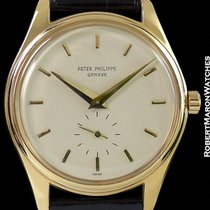 Patek Philippe 2526 Calatrava 18k Screw Back Automatic Patek...