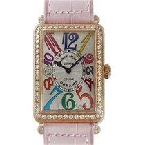 Franck Muller Long Island Pink gold Diamond 952 QZ D 1R COL DRM
