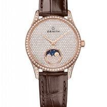 Zenith Elite Lady Moonphase Rose Gold & Diamonds Ladies Watch