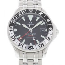 Omega Seamaster GMT Stainless Steel 168.1613