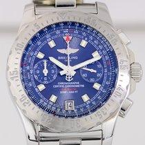 Breitling Skyracer Chronograph Chronometre blue Dial Date TOP