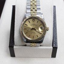 Tudor Rolex 75203  Prince Oysterdate 14k Yellow Gold &...
