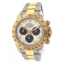 Rolex Daytona 116523 Stainless Steel 18k Yellow Gold Automatic...