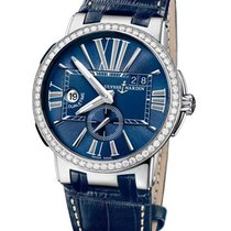 Ulysse Nardin 243-00B/43 Dual Time Executive 43mm in Steel...