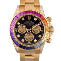 Rolex Daytona Cosmograph 40mm Yellow Gold 'Rainbow'