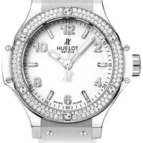 Hublot Big Bang Steel White 38mm - NEW - 2017 listprice €...