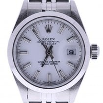 Rolex Datejust 69160 26 Millimeters White Dial