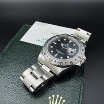 Rolex EXPLORER 2 16570 Black Dial with Paper
