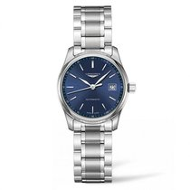 Longines Master Collection Blue Dial Ladies Watch