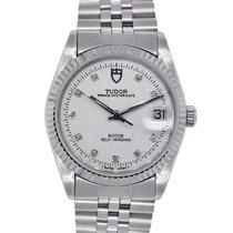 튜더 (Tudor) 74000 Oyster Prince Date Diamond Dial Stainless Watch