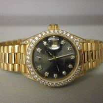 Rolex Datejust President Crown Collection 69158 18k 26mm Lds....