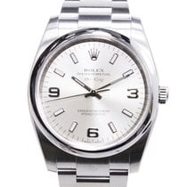 Rolex Oyster Perpetual Stainless Steel Silver Automatic...
