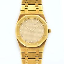 Audemars Piguet Royal Oak Lady 18K Solid Yellow Gold Diamonds