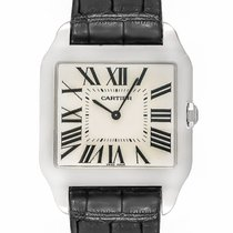 Cartier Santos Dumont 18K White Gold Manual Wind Men's Watch –...