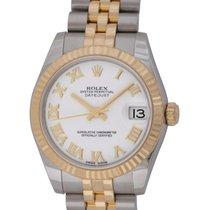Rolex : Datejust Midsize 31MM :  178273 :  18k Gold &...