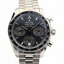 Omega Speedmaster Co-Axial 38 Grey Dial