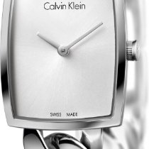 ck Calvin Klein Amaze K5D2M126 Damenarmbanduhr Mit Kettenband