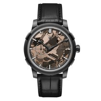 Romain Jerome 1969 Black Metal Brown Silicium Dial Automatic...