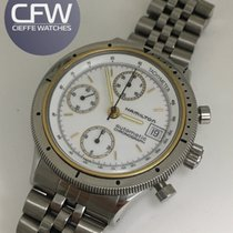 Hamilton Chronograph Vintage Stell and Gold