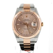 Rolex OYSTER PERPETUAL DATEJUST 41 ROSE GOLD/STAINLESS STEEL