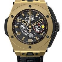 Hublot Big Bang 45mm Ferrari Magic Gold Skeleton Automatic...