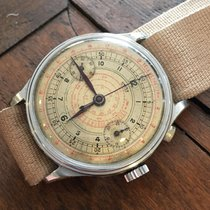 Longines Oversized 37mm Sector Dial Chronograph monopusher...