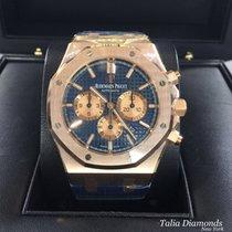 Audemars Piguet Royal Oak Rose Gold Blue Dial 26331OR.OO.D315C...
