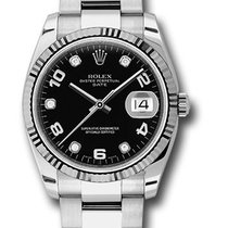 Rolex Unworn 115234bkdo Date 34mm Automatic in Steel with...