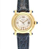 Chopard Happy Sport 18K Yellow Gold Quartz 26mm Ladies Watch –...