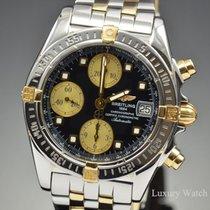 Breitling Chrono Cockpit 18K Yellow Gold & Steel Watch B13357