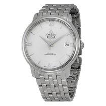 Omega De Ville Prestige Silver Dial Automatic Mens Watch...