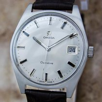 Omega Geneve Cal 613 Swiss 35mm Manual Men's 1970s...