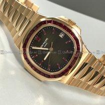 Patek Philippe - Nautilus 5723/112R-001 Diamond Bezel Brown...