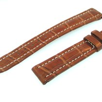 Breitling Band 15mm Croco Brown Marron Strap Ib15-18
