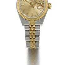 勞力士 (Rolex) | A Lady's Stainless Steel And Yellow Gold...