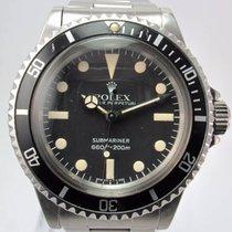 Rolex 1981 Vintage Submariner 5513 Maxi Mk IV Cream Patina