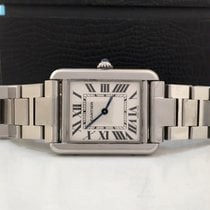 Cartier Tank Solo Lady White Dial Impecável