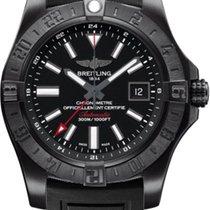 Breitling Avenger II GMT M3239010/BF04-153S Rubber Black Dial