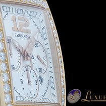 Chopard Two O Ten Chronograph mit 46 Diamantbesatz 18kt Rotgold
