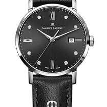 Maurice Lacroix Eliros Date Ladies Black Dial, Diamonds, Black...