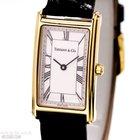 Tiffany & Co Rectangular Gentleman Watch 18k Yellow Gold...